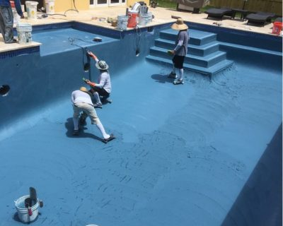 South Florida pool resurfacing