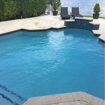 Custom pool renovations in South Florida