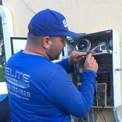 Pool electrical wiring in South Florida