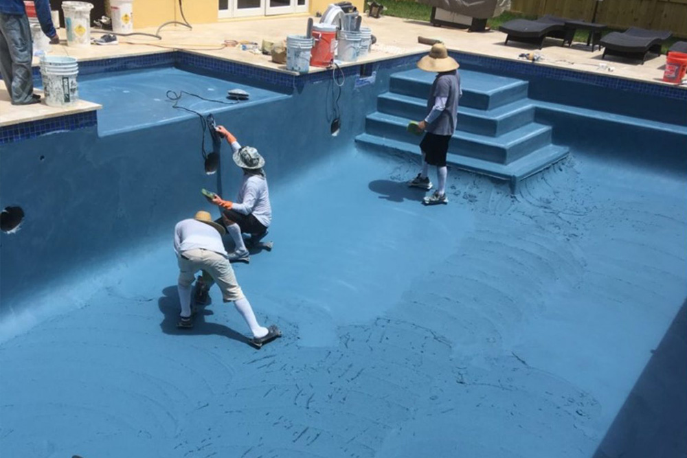 South Florida pool renovations