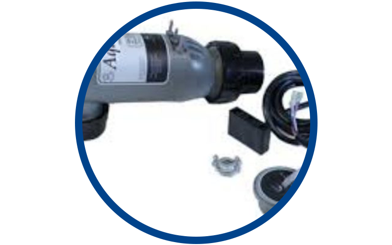 Salt water chlorinators and other pool equipment for sale in South Florida