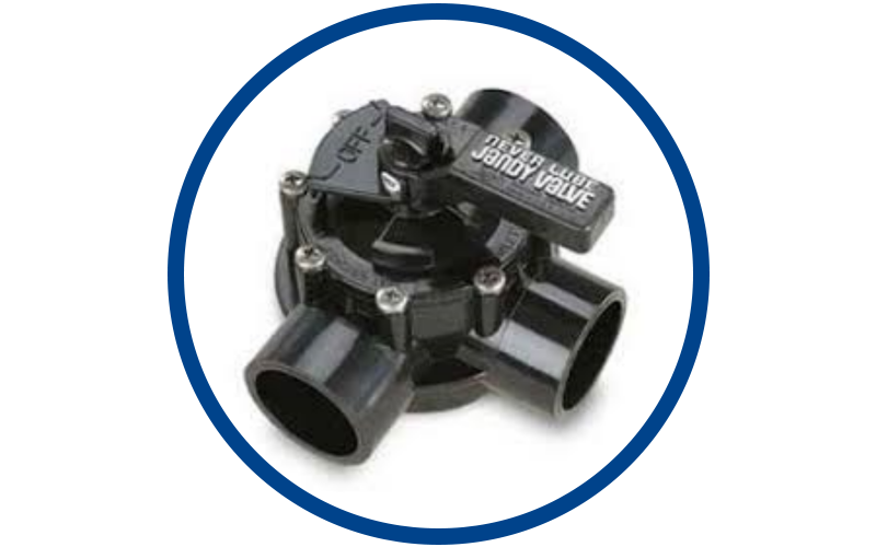 Valves and other pool equipment for sale in South Florida